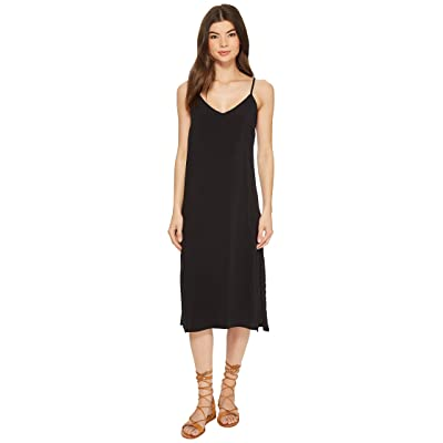 RVCA Chasing Shadows Dress (Black) Women