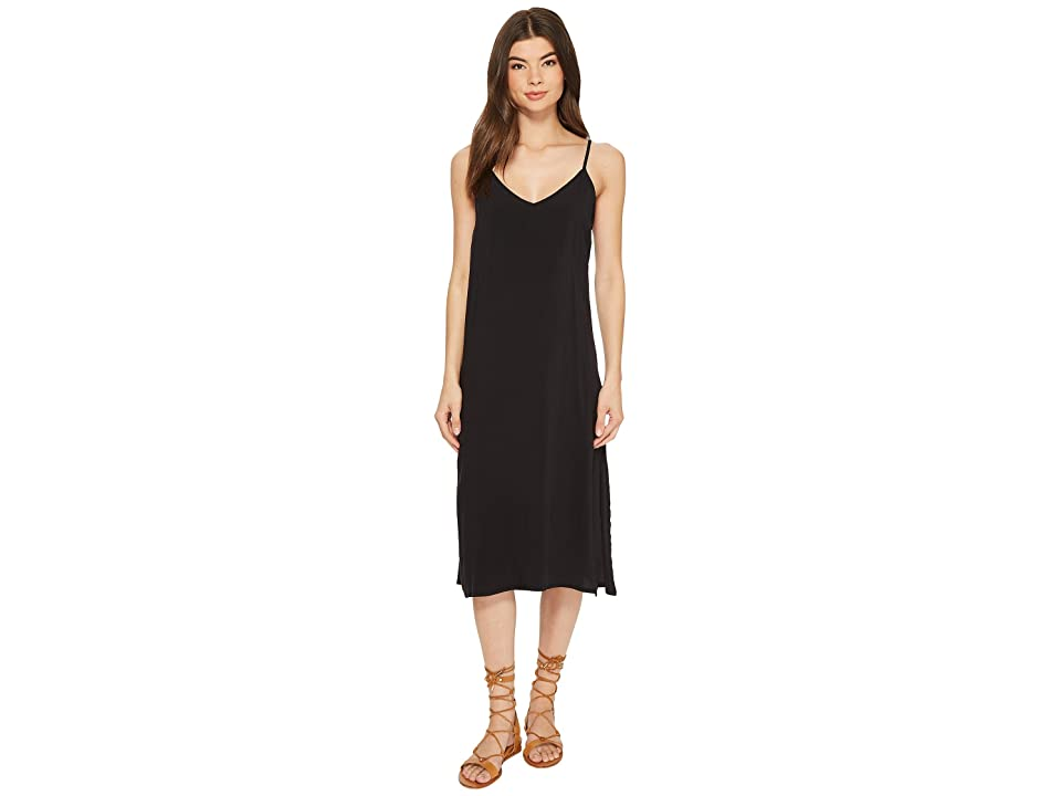RVCA Chasing Shadows Dress (Black) Women