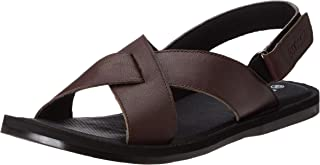 Extacy By Red Chief Men's Leather Outdoor Sandals