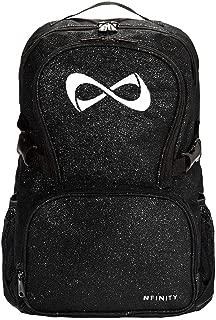 Nfinity Sparkle Backpack, Black/White Logo