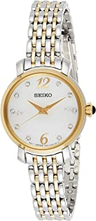 Seiko Wrist Watch Womens Quartz Casual Watch, Analog and Stainless Steel - SRZ522P1