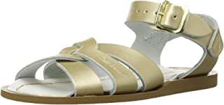 Salt-Water Sandals Girls' Original Fashion Sandals, Gold (Gold), 9 AU (9 US)