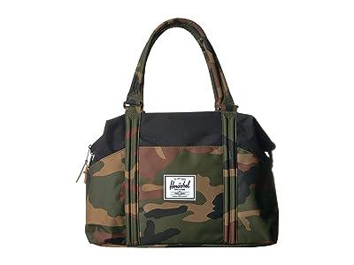 Herschel Supply Co. Strand (Woodland Camo/Black) Duffel Bags