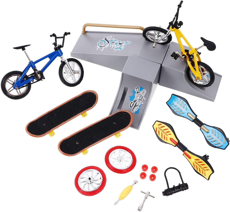 BESPORTBLE Finger Skateboard Max 61% OFF Kit Park Mini Cheap mail order specialty store Toys Skate