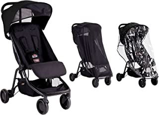 Mountain Buggy Nano With Storm Cover and Sun Cover (Black)