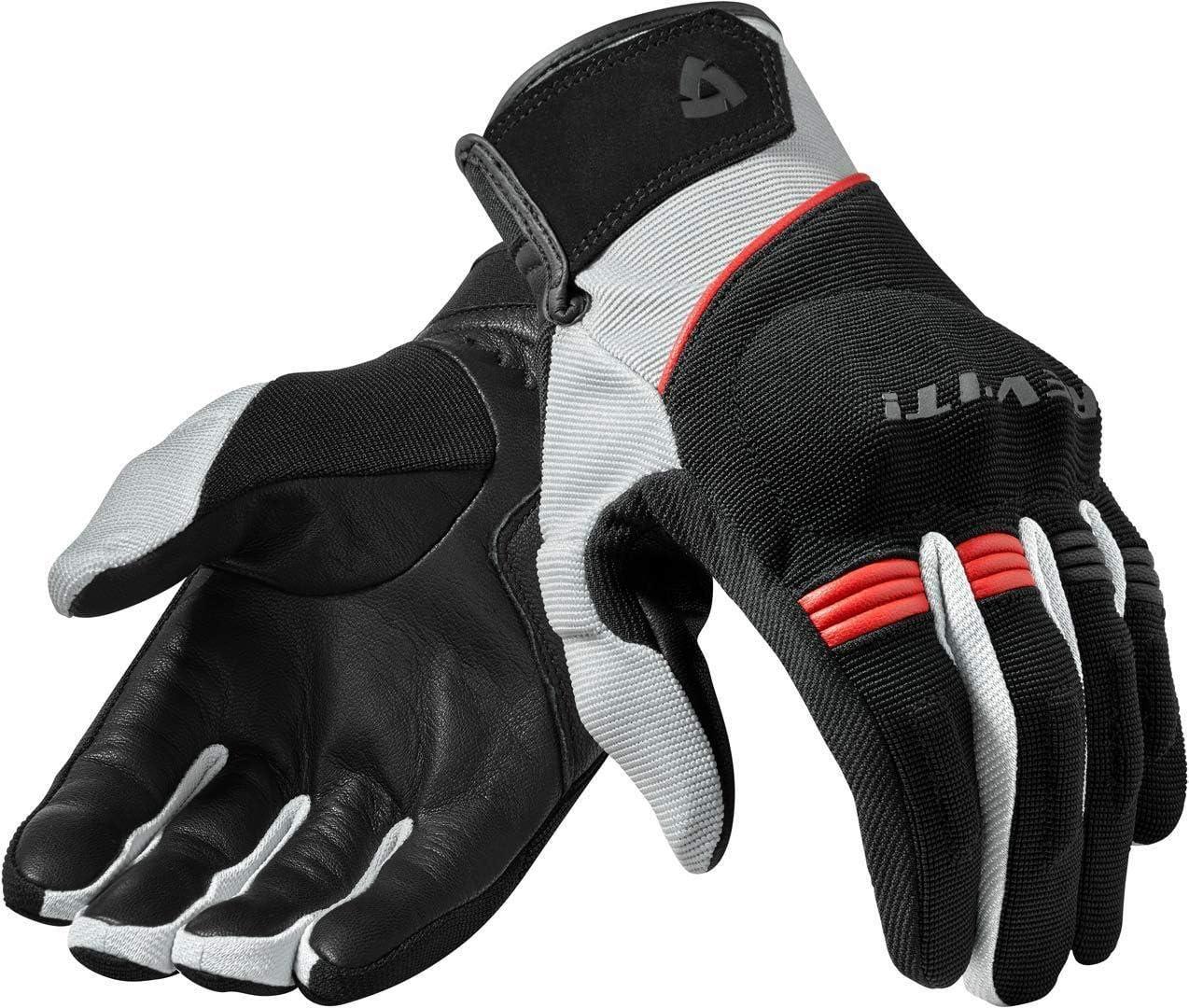 Revit Mosca Motocross Handschuhe Schwarz Rot Xl Auto