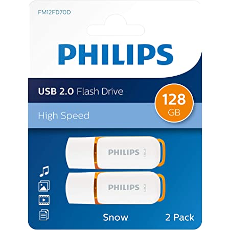 Philips Snow Edition 128gb Usb 2 0 Flash Drive Computers Accessories