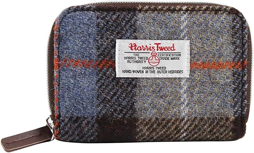 Harris Tweed Bute Purse with Zip and Cardholder
