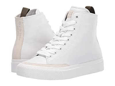 rag & bone RB High Top Sneaker (White) Women