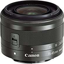 Canon EF-M 15-45mm f/3.5-6.3 Image Stabilization STM Zoom Lens (Renewed)