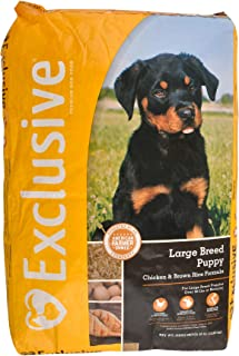 Exclusive Large Breed Puppy Food Chicken & Brown Rice Recipe, 30 lb Bag