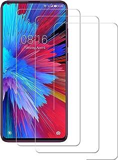 POOPHUNS Cristal Templado Xiaomi Mi 9T,[3-Unidades] Protector de Pantalla para Xiaomi Mi 9T [Alta Definicion, 9H Dureza, Resistente a Arañazos]