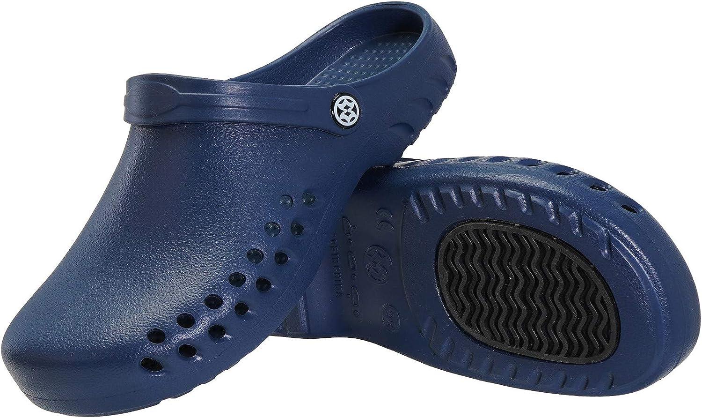 Zoccoli Sabot Donna Uomo Sandali Spiaggia Giardino Scarpe Ultra-Leggeri Comode Pantofole da Spiaggia Antiscivolo Ciabatte allaperto