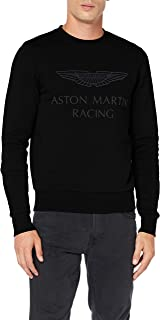 Hackett London Men's Amr Print Crew Sweatshirt