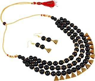 b657d83d684f1 Black Women's Jewellery Sets: Buy Black Women's Jewellery Sets ...