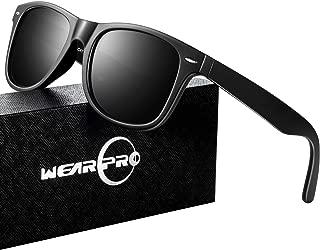 Sunglasses for Men- wearpro Retro Vintage Polarized Mens Sun Glasses WP1001-2