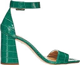 Bright Green Exotic Croco