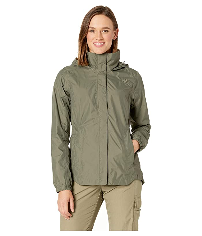 The North Face Resolve Parka II (New Taupe Green) Women