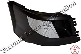 Volvo VNL Bumper Corner Extension - With Foglight Hole and Chrome Cover (2016+) (Right Side)