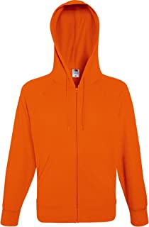 Fruit of the Loom Lightweight Hooded Sweat Jacket Felpa Uomo