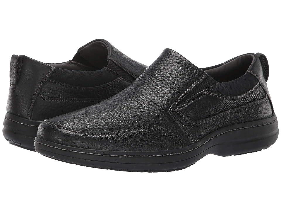 Hush Puppies Elkhound MT Slip-On (Black Leather) Men
