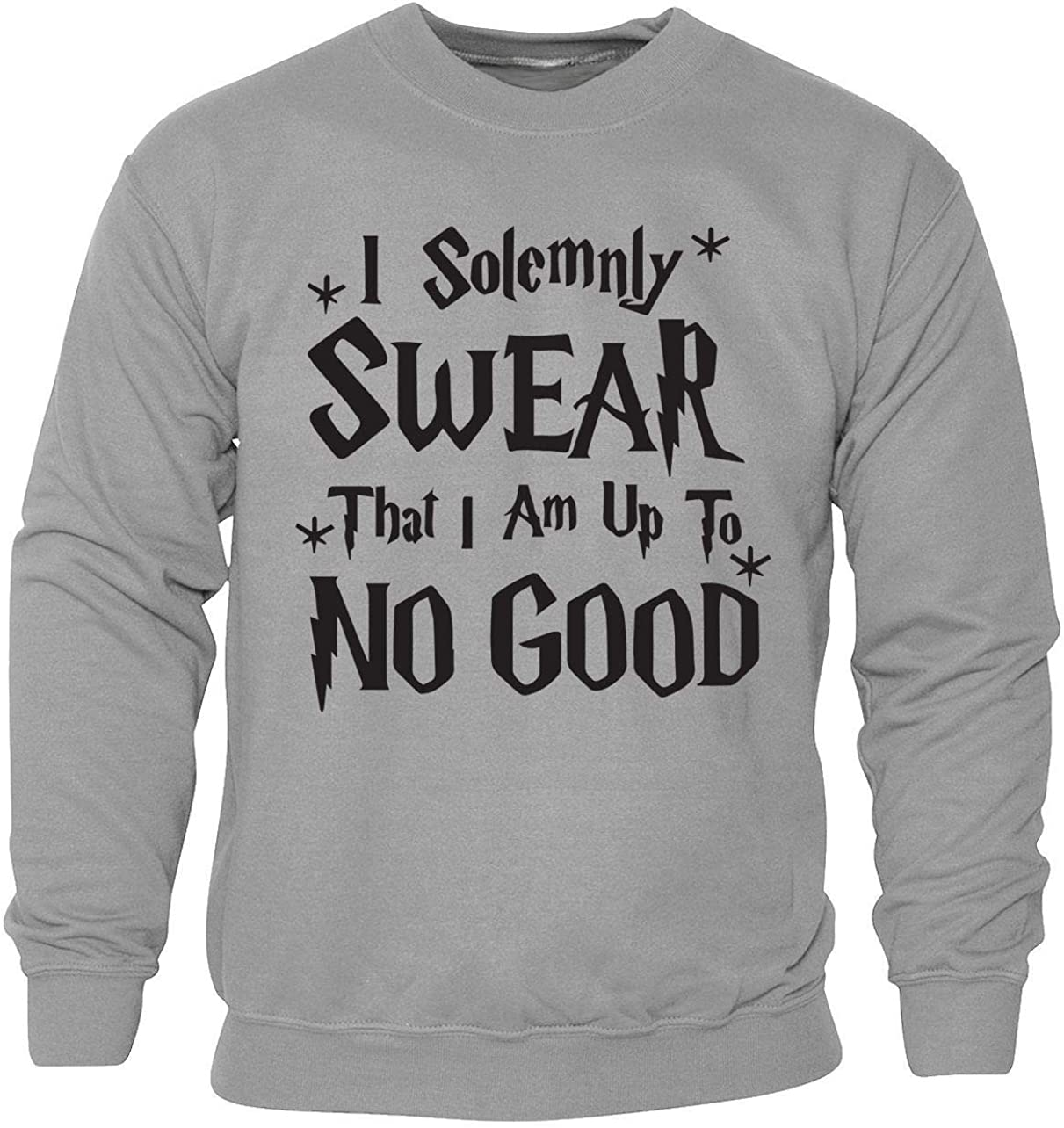New Girl Boys Kids Children Harry Potter I Solemnly Sware Funny Jumper Sweater
