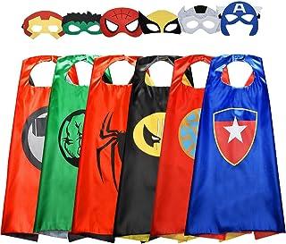 Tisy Cosplay Kostüm für Junge 3-12 Jahre,Kinderkostüm Jungen Geschenke Jungen 8 Jahre Superhelden Kostüm Spielzeug ab 4 5 6 Jahren für Jungen Halloween Kostüm Kinder Kinderspielzeug ab 5 Jahren Jungen