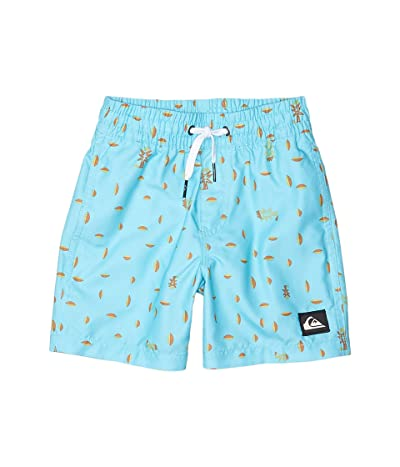 Quiksilver Kids Pacific Volley (Toddler/Little Kids) (Pacific Blue) Boy