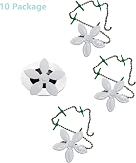 Wild Tribe Bathtub and Shower Drain Protectors with Suction Cups Easiest Hair Catchers Soft Silicone 4 flower
