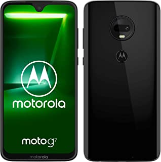 "Motorola Moto G7, Smartphone Android 9.0, Display 6,2"", Dual Camera da 12Mp, 4/64 GB, Dual Sim, Nero (Ceramic Black) [vers..."