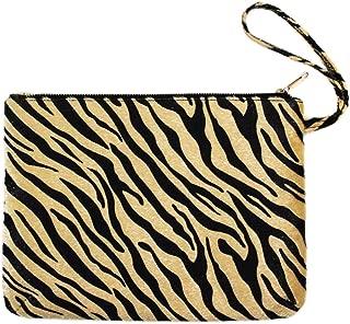 Me Plus Women's Clutch Pouch Wristlet Purse Bag Zipper Closure (2 Patterns)