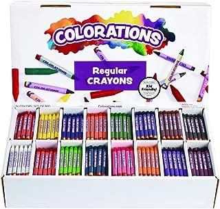 Colorations Regular Crayons Classroom Set 16 Colors 800 Crayons
