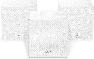 Tenda MW12-3 Whole Home Mesh Wi-Fi System, Tri-band, 3 Gigabit Ports, 6000sq² Wi-Fi Coverage, Easy Set Up, Work with Amazo...