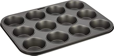 Wiltshire Muffin Pan, 12cup, Charcoal Grey