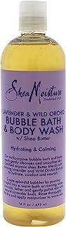 SheaMoisture 16 oz Lavender & Wild Orchid Bubble Bath & Body Wash