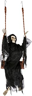 Best skeleton on swing halloween decoration Reviews