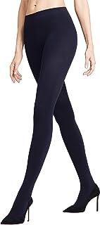 FALKE Strumpfhose Warm Deluxe 80 Denier Damen schwarz blau viele weitere Farben verstärkte Feinstrumpfhose ohne Muster blickdicht reißfest matt wärmend dick 1 Stück
