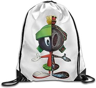 SAXON13 Unisex Playful The Martian Man Drawstring Shoulder Bag