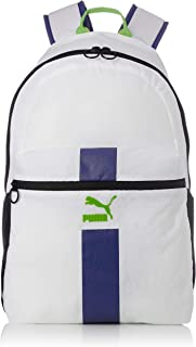 PUMA Fashion Backpack for Men - Polyester, White 76012