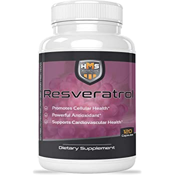 Resveratrol 1400mg 120 Capsules High Potency Trans-Resveratrol with Powerful Antioxidents Acai Grapeseed Green Tea Supports Cellular and Cardiovascular Health Anti-Aging