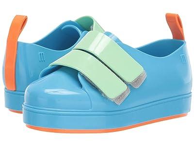 Mini Melissa Go Sneaker BB (Toddler/Little Kid) (Sky Blue/Green) Girl