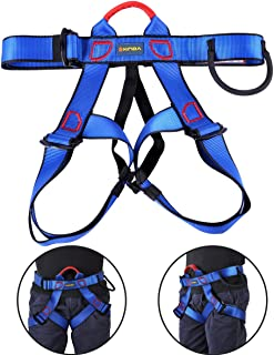 UCEC Climbing Harness Safe Seat Belt, for Fire Rescue, High Altitude Rock Climbing, Rappelling Equipment, Half Body Guard Protect, Pack of 1