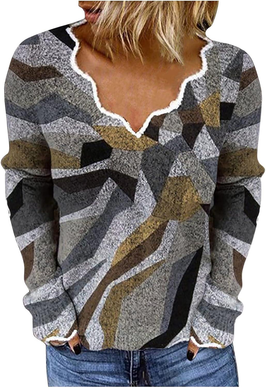 Sweatshirt for Ranking TOP19 Women Retro Printed Blouse Ranking TOP16 Loose Soft Long S Tees