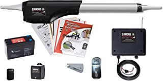 Mighty Mule MMDIA30S Diamond Series Automatic Opener for Heavy Duty Single Swing Gates for 16' Long or 500 lb