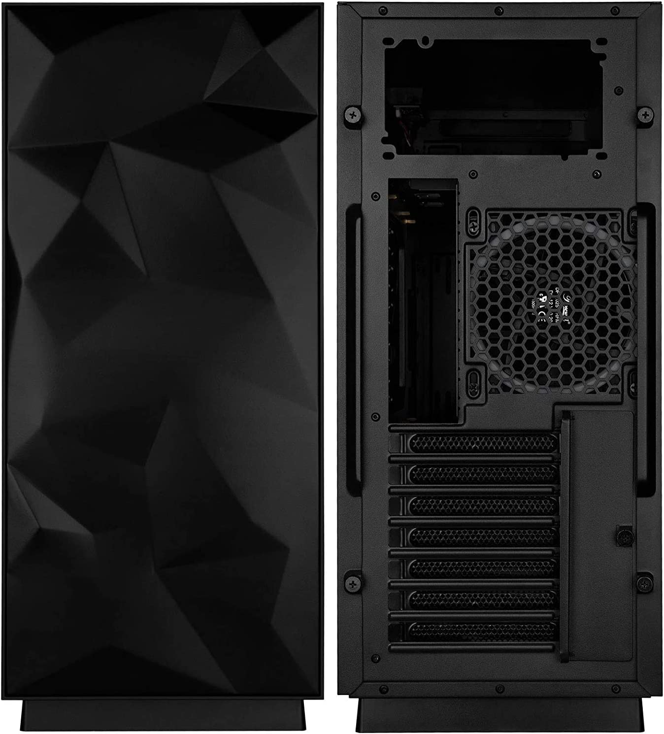Super sale period limited ATX Mid Tower Computer ZY-46 with Tempered Case San Francisco Mall Glas PC