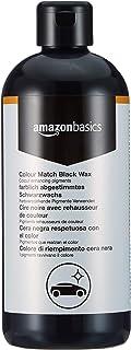 Amazon Basics   Wachs, für Autolacke mit der gleichen Farbe, Schwarz, 500ml, Flasche mit Klappdeckel