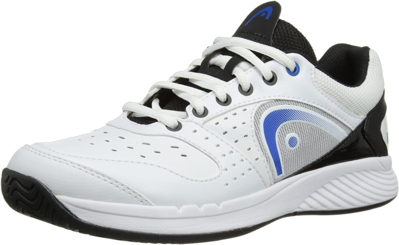 HEAD Sprint Team Men's Tennis shoes, White Black bluee, US11.5 [Apparel]