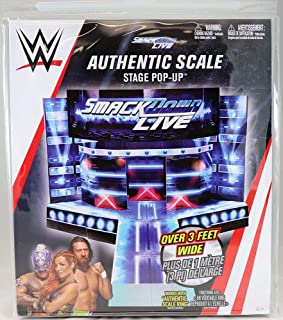 Smackdown Live Entrance Stage Pop Up - Wicked Cool Toys Toy Wrestling Action Figure Pop Up Accessory