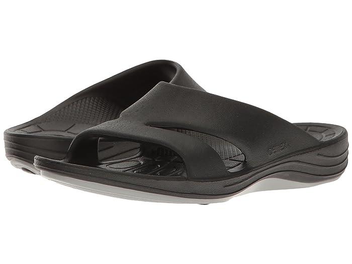 Aetrex  Lynco Slide (Black) Womens Sandals