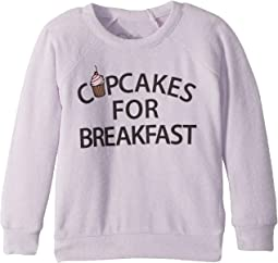 Super Soft Love Knit Cupcakes for Breakfast Pullover (Toddler/Little Kids)